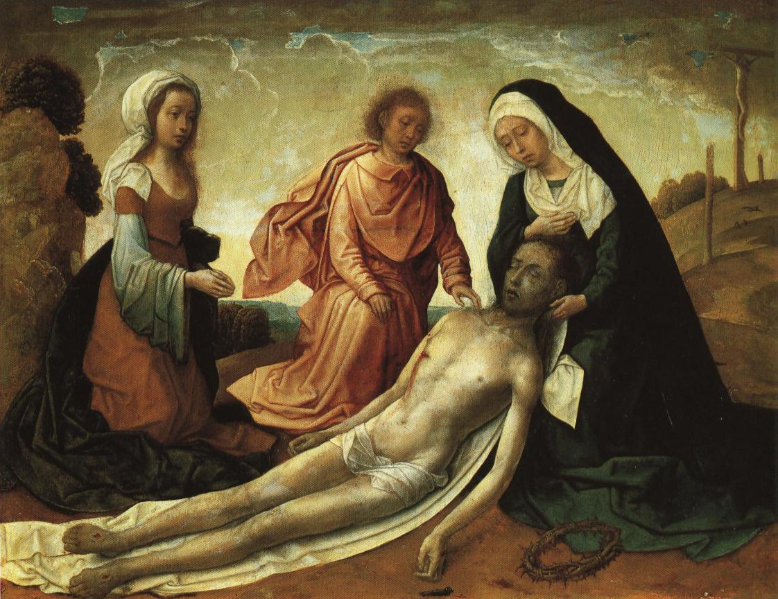 The Lamentation | Juan De Flandes | Oil Painting