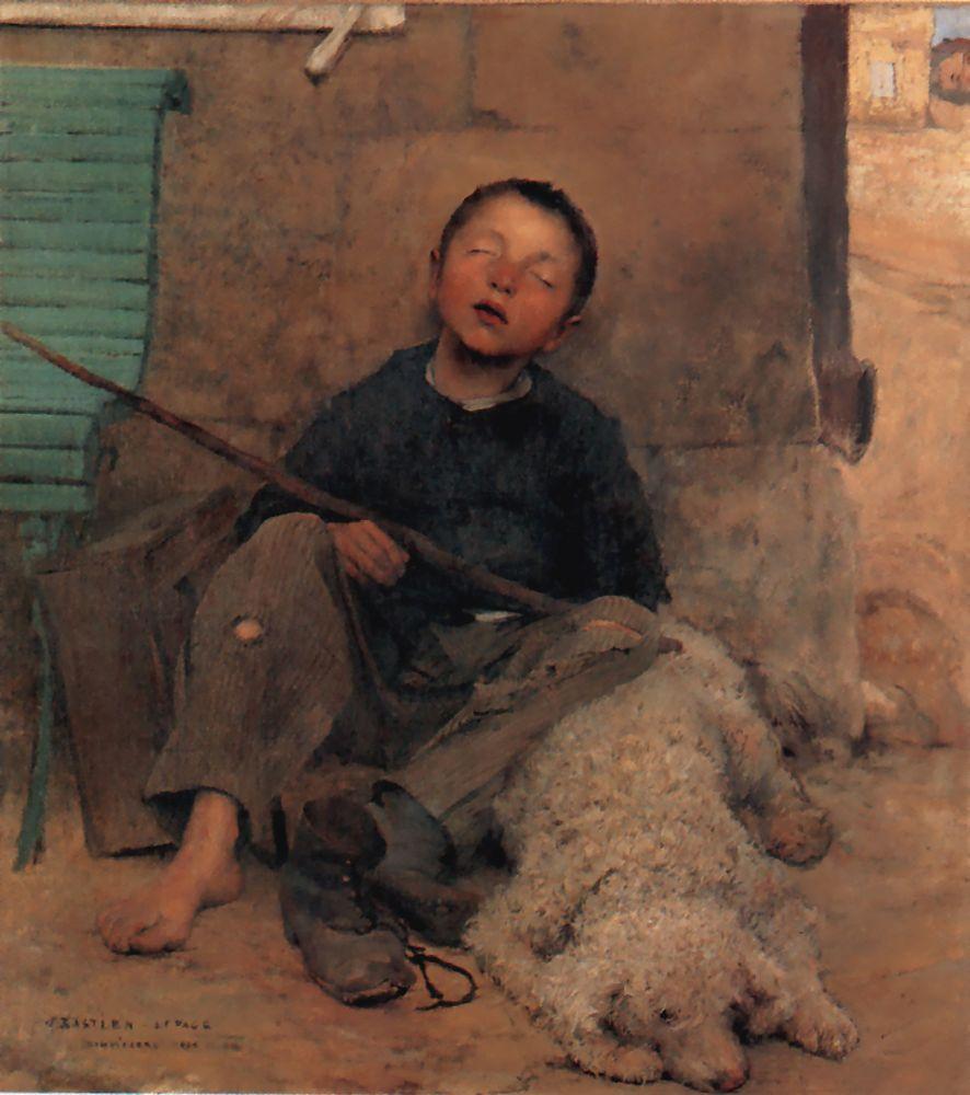 Lepage1 | Jules Bastien Lepage | Oil Painting