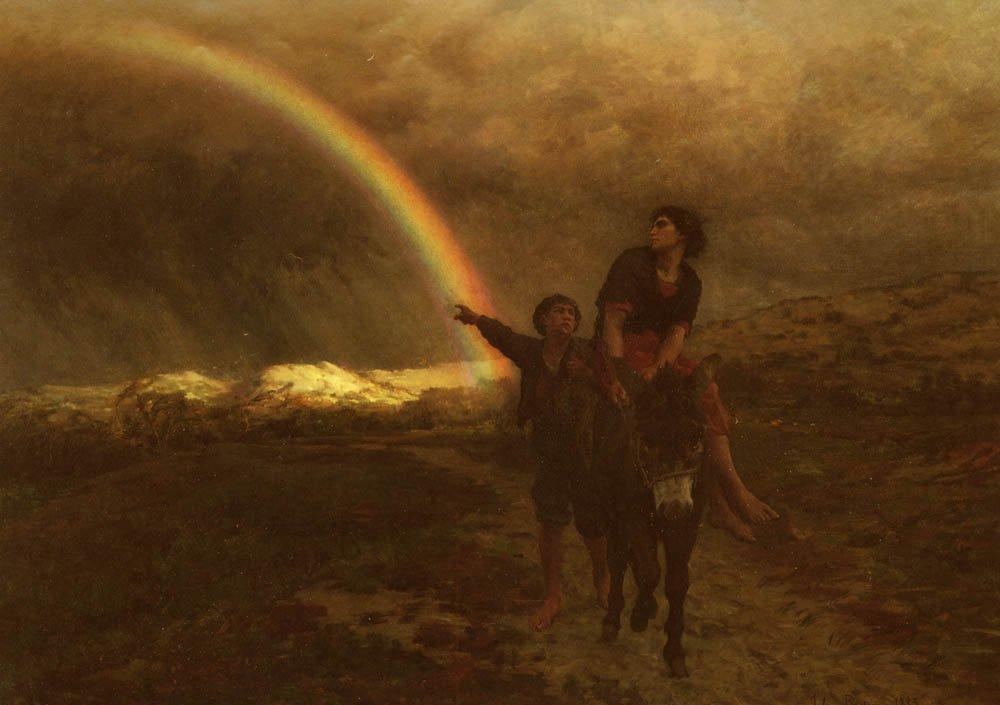L-Arc-En-Ciel | Jules Breton | Oil Painting