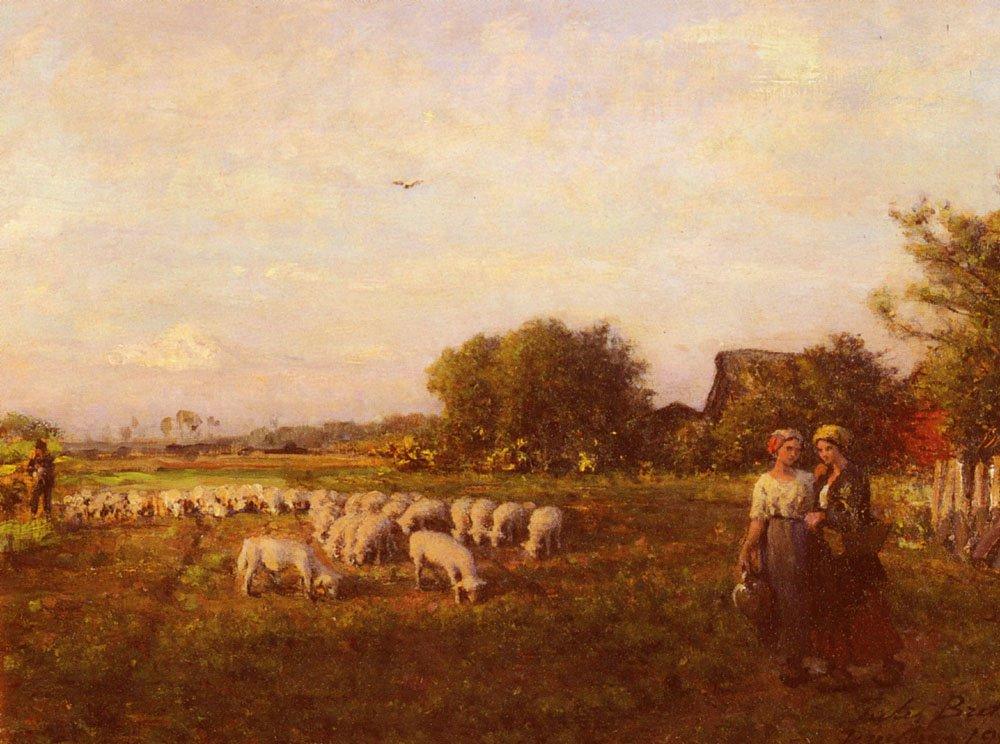 La Bergere | Jules Breton | Oil Painting