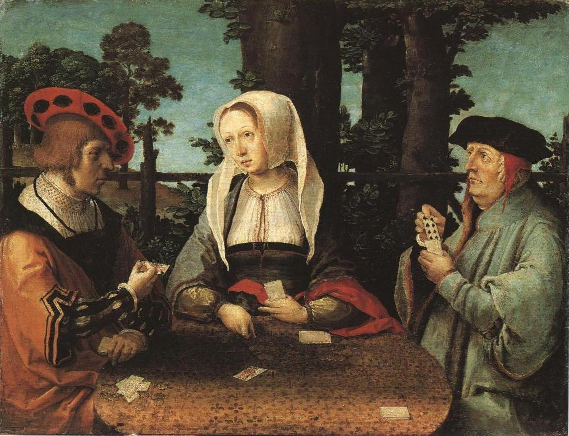 The Cardplayers | Lucas Van Leyden | Oil Painting