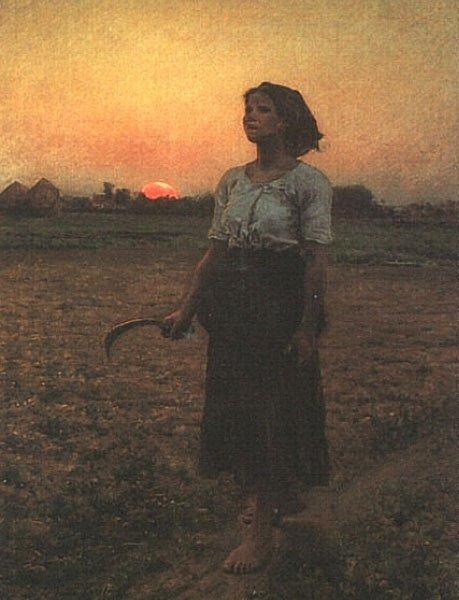 The Song of the Lark   Jules Breton   Oil Painting