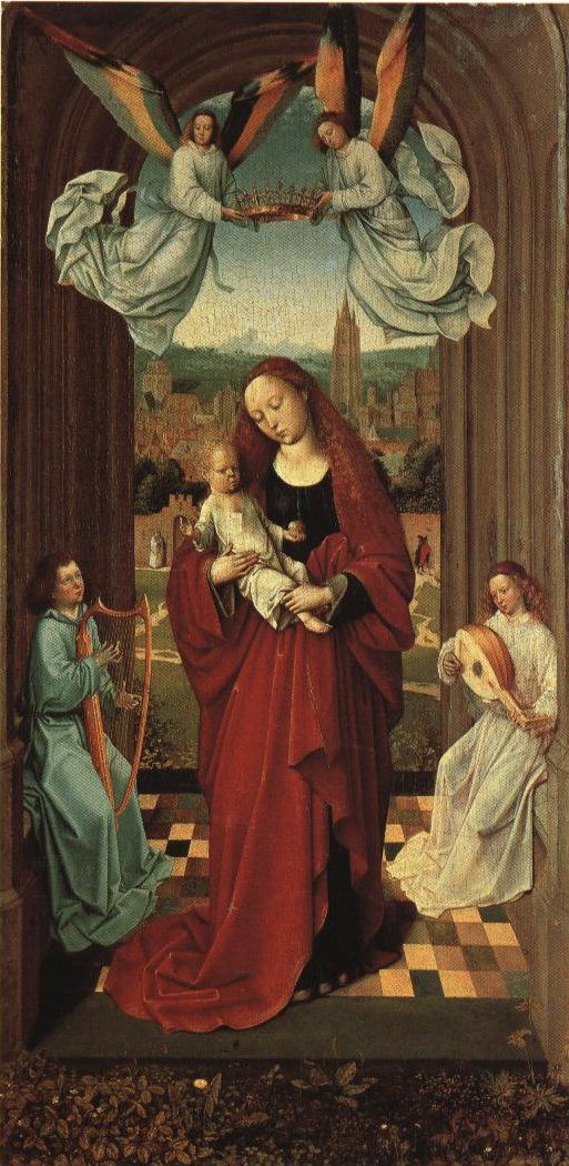 Madonna Standing In An Arch | Master Of The Andre Madonna | Oil Painting