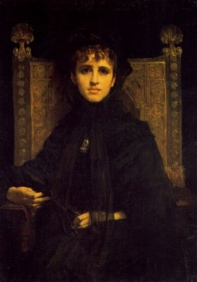 Mme Georges Bizet | Jules Elie Delauney | Oil Painting