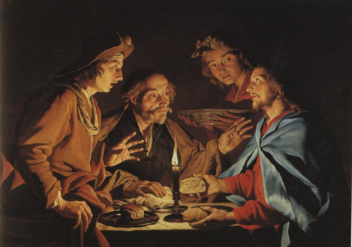 The Supper At Emmaus | Matthias Stom | Oil Painting