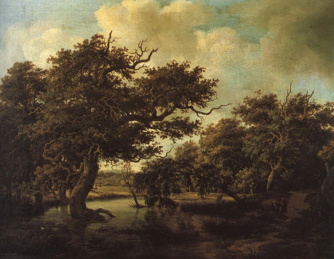 Woodland Pond | Meindert Lubbertsz Hobbema | Oil Painting