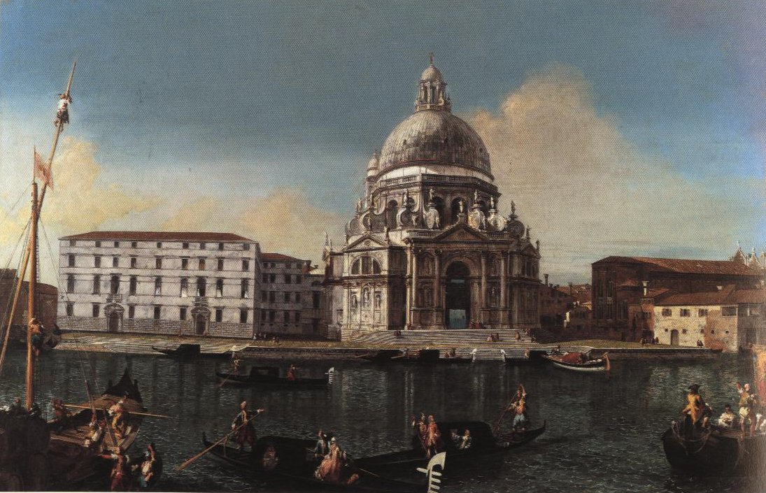 View Of The Canal Grande With Sta Maria Della Salute | Michele Marieschi | Oil Painting