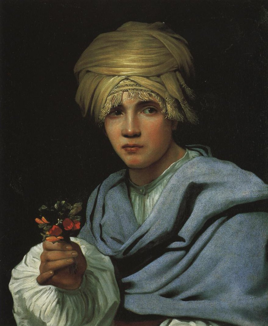 Boy In A Turban Holding A Nosegay | Michiel Sweerts | Oil Painting
