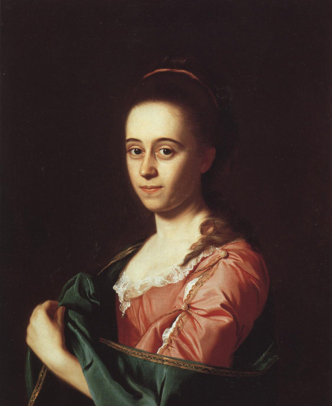 Mrs Joshua Henshaw Ii Catherine Hill | Ohn Singleton Copley | Oil Painting
