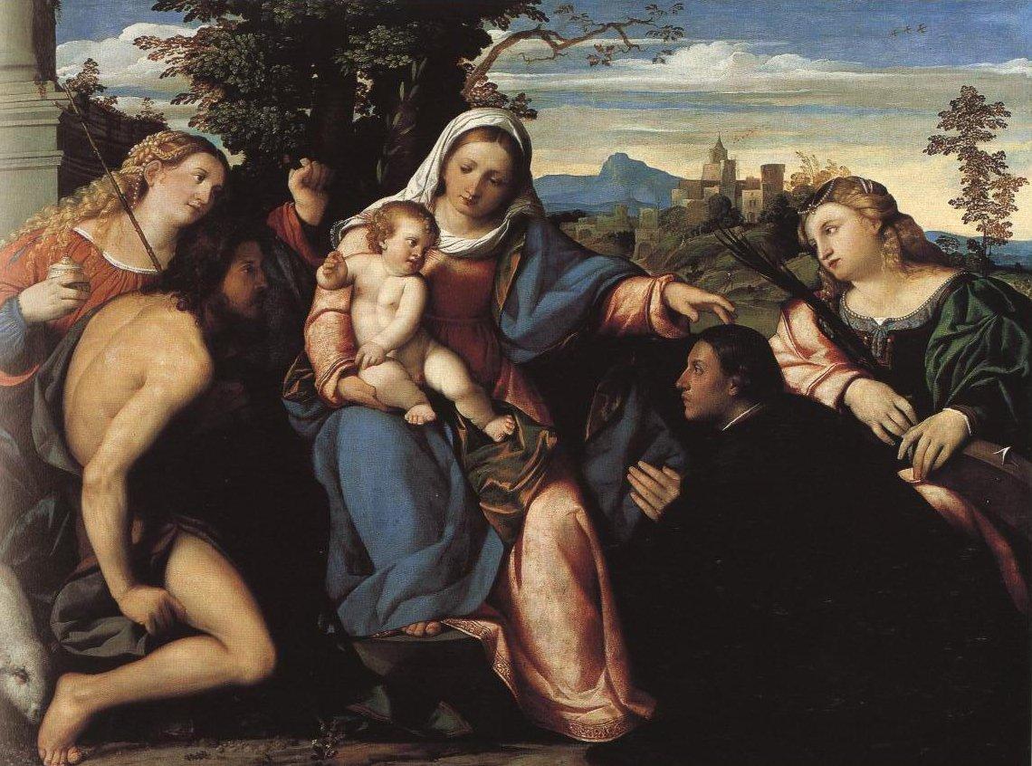 Sacra Conversazione | Palma Il Vecchio | Oil Painting