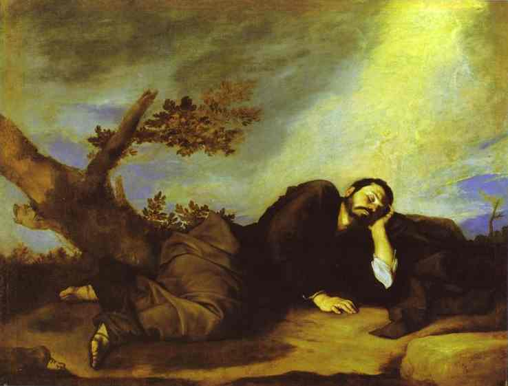 Jacobs Dream 1639 | Jusepe De Ribera | Oil Painting