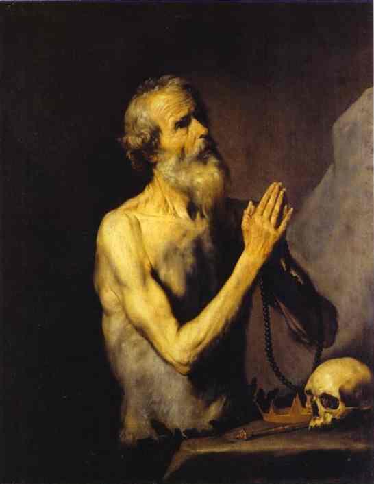 Saint Onuphrius 1637 | Jusepe De Ribera | Oil Painting