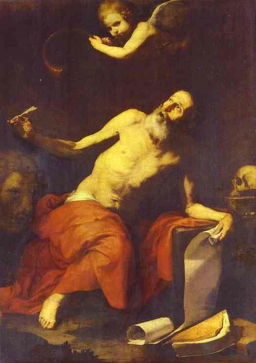 St Jerome Hears The Trumpet 1626 | Jusepe De Ribera | Oil Painting