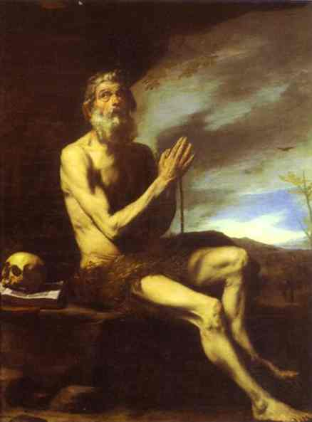 St Paul The Hermit | Jusepe De Ribera | Oil Painting