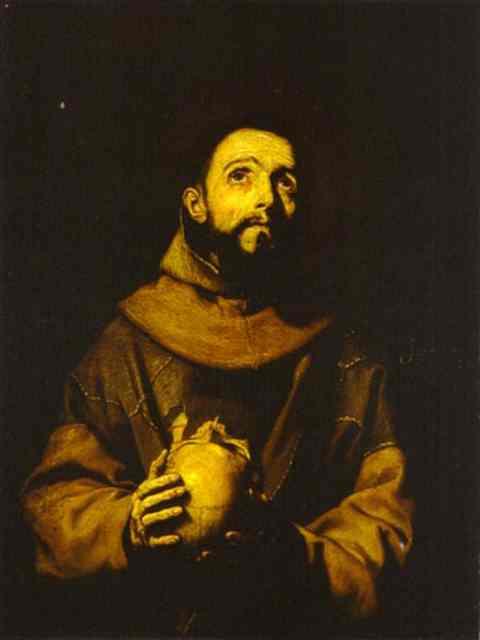 St Francis 1643 | Jusepe De Ribera | Oil Painting