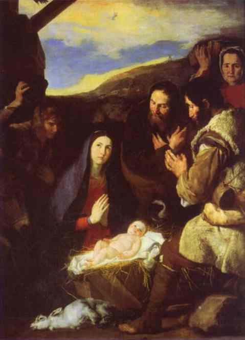 The Adoration Of The Shepherds 1650 | Jusepe De Ribera | Oil Painting