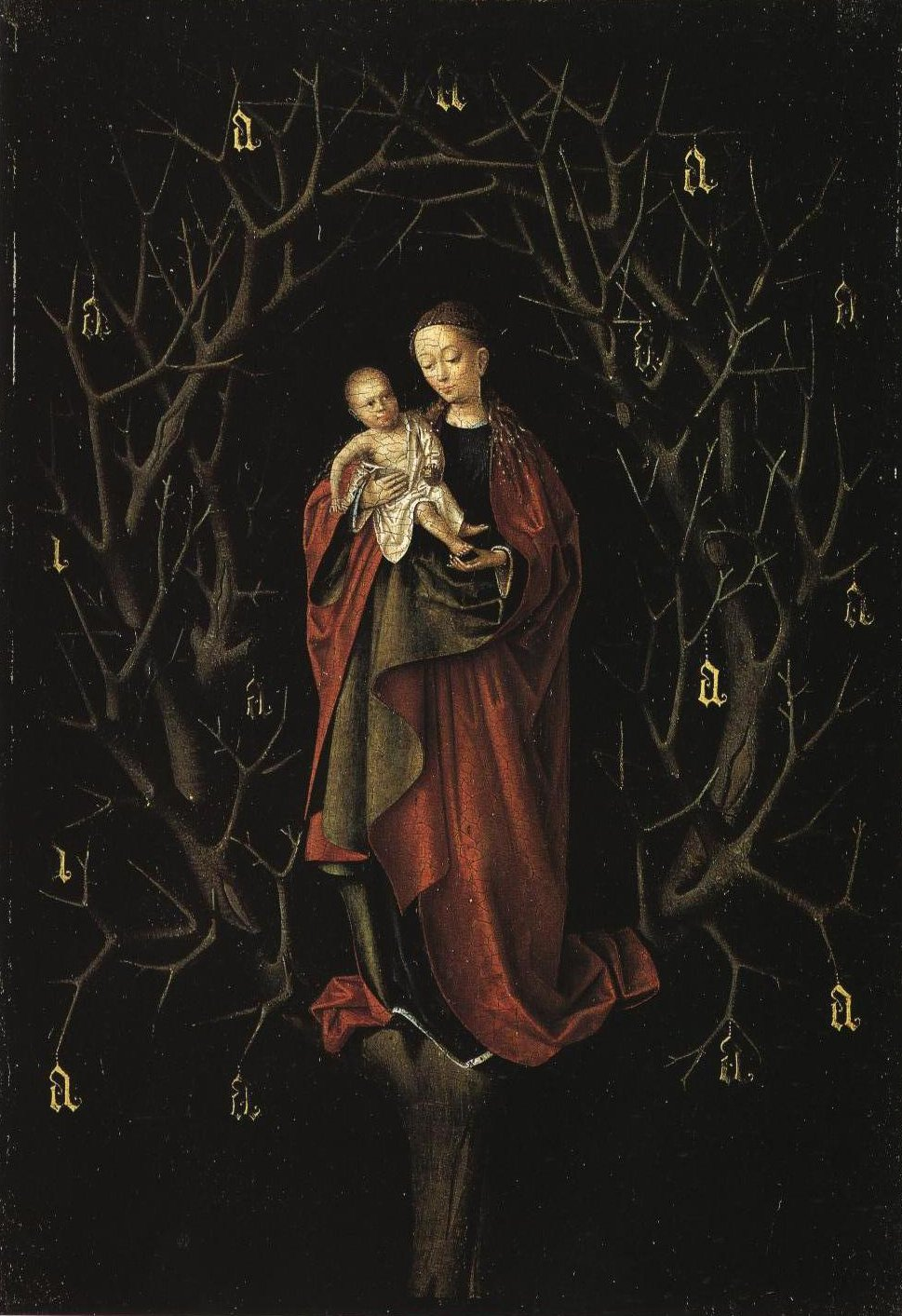 Our Lady Of The Dry Tree | Petrus Christus | Oil Painting