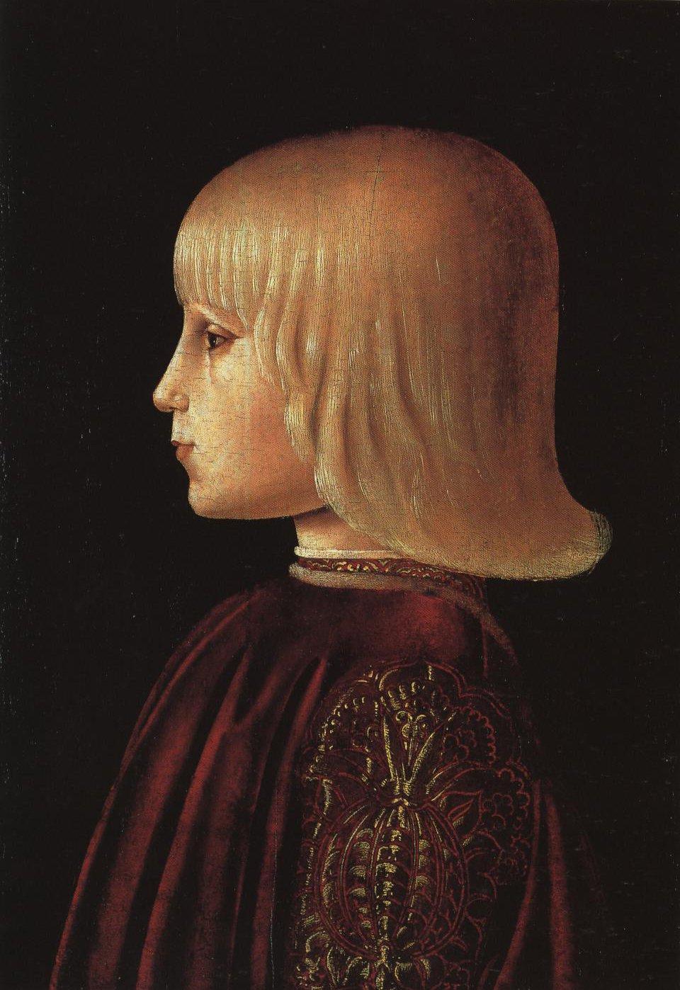Portrait Of Guidobaldo Da Montefeltro | Piero Della Francesca | Oil Painting