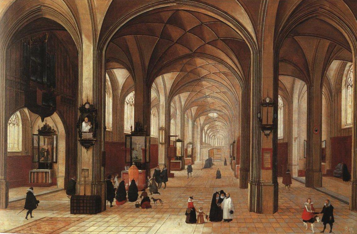 Church Interior | Pieter Neef I | Oil Painting