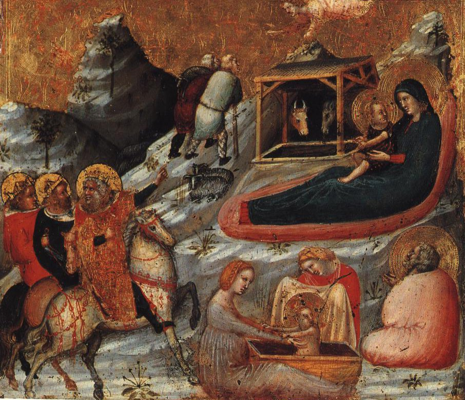 Episodes From Christs Infancy | Pietro Rimini | Oil Painting