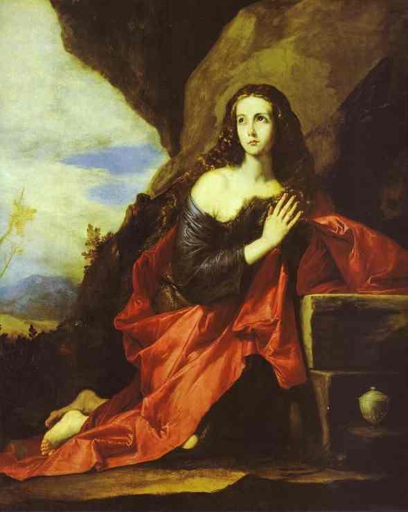 The Penitent Magdalen 1641 | Jusepe De Ribera | Oil Painting