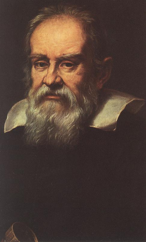 Portrait of Galileo Galilei | Justus Sustermans | Oil Painting