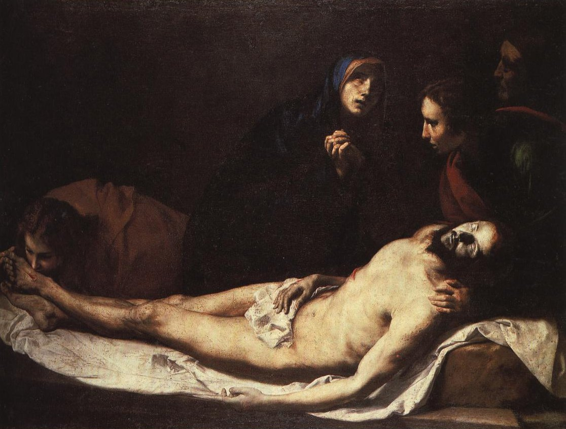 Lamentation Over The Body Of Christ | Ribera | Oil Painting