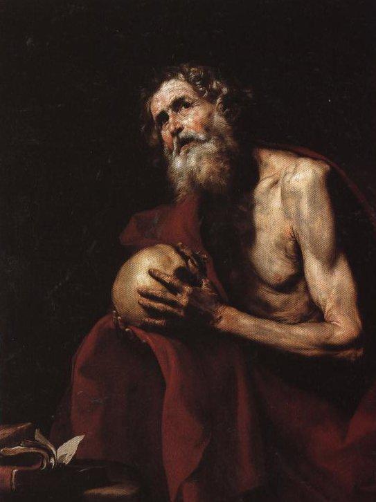 The Penitent St Jerome | Ribera | Oil Painting