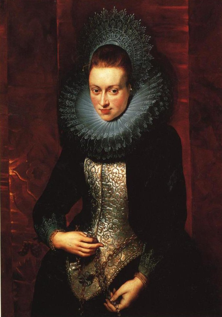 Portrait Of A Young Woman With A Rosary | Rubens | Oil Painting