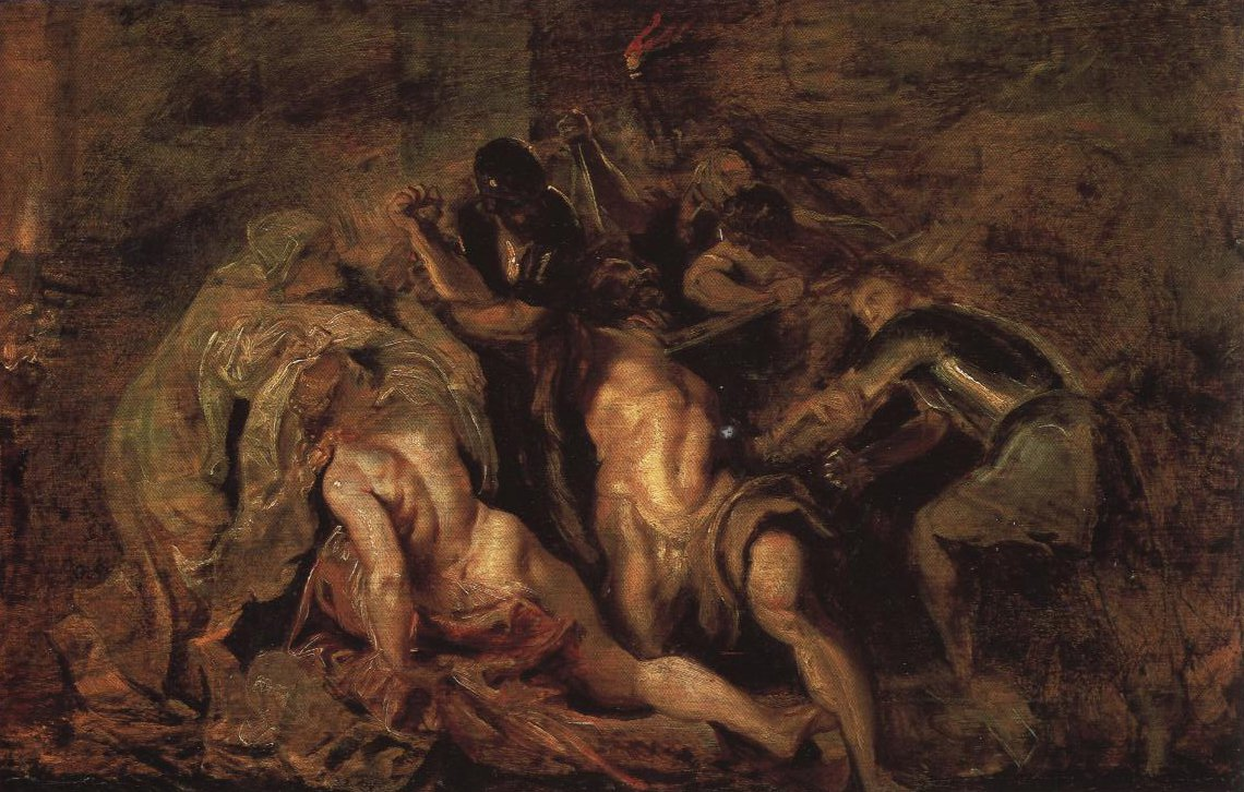 The Blinding Of Samson | Rubens | Oil Painting