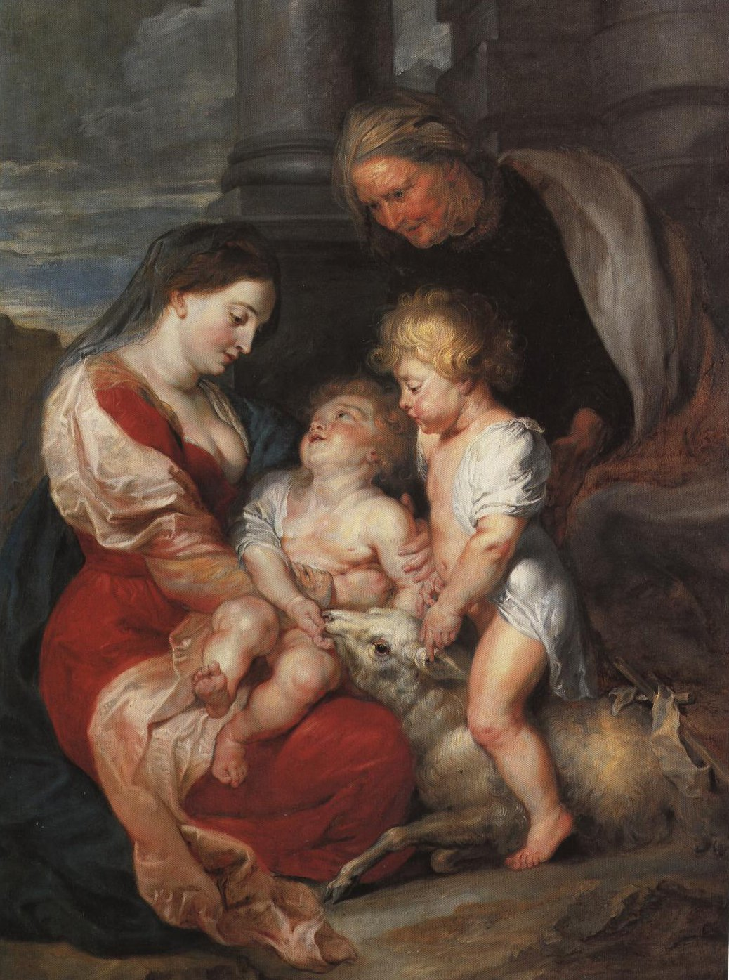 The Virgin And Child With St Elizabeth And The Infant St John | Rubens | Oil Painting