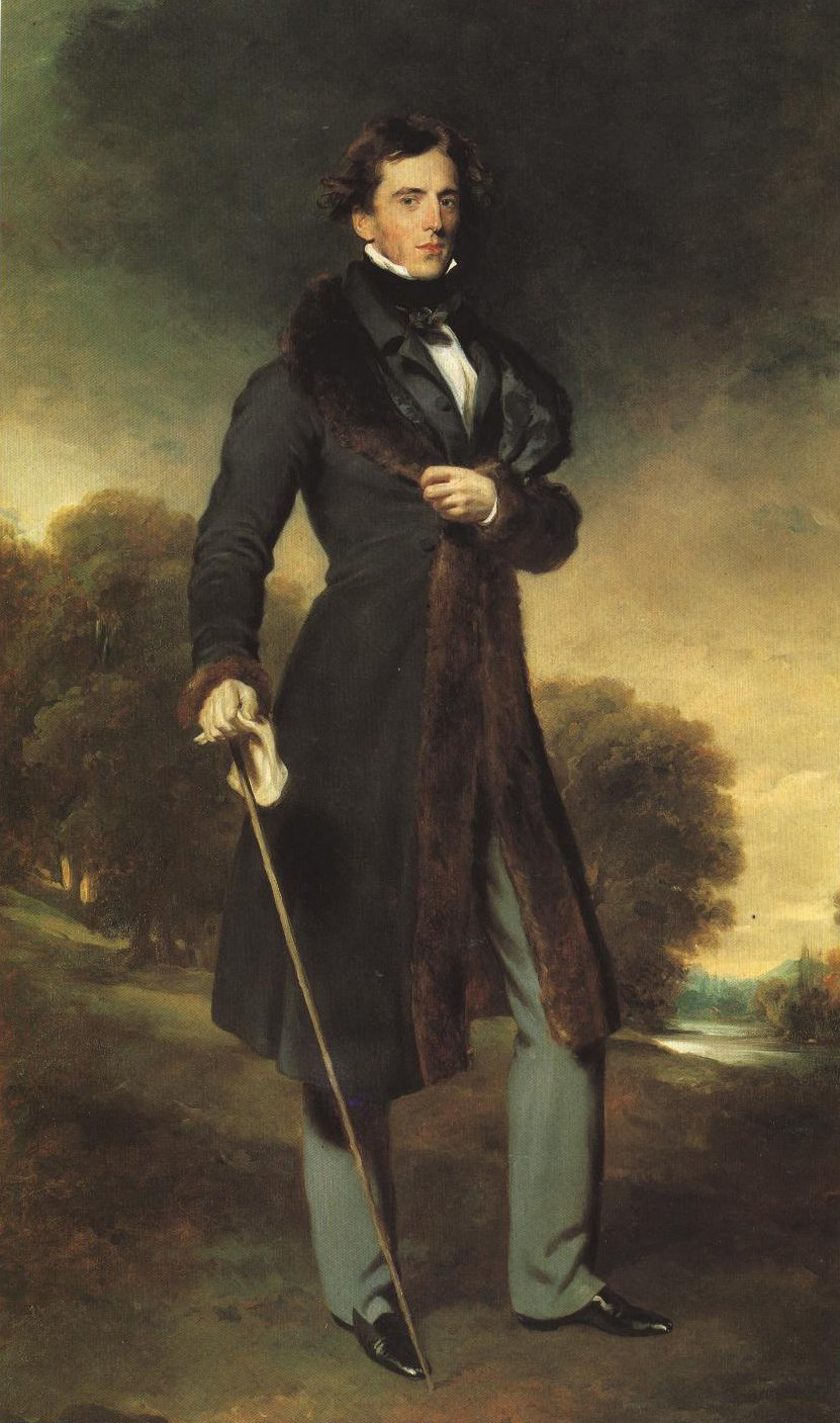 Portrait Of David Lyon | Sir Thomas Lawrence | Oil Painting