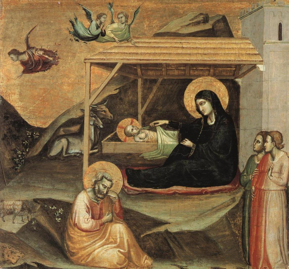 Nativity | Taddeo Gaddi | Oil Painting