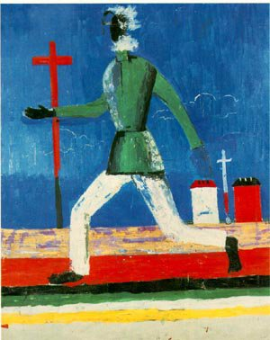 Running Man 1932-34 | Kasimir Malevich | Oil Painting