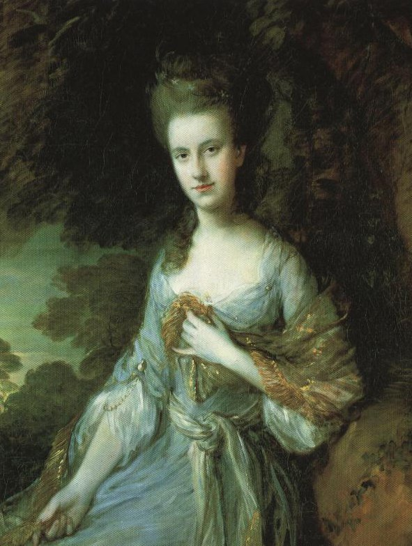 Miss Sara Buxton | Thomas Gainsborough | Oil Painting