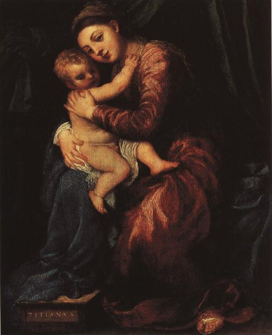 Madonna And Child | Titian | Oil Painting
