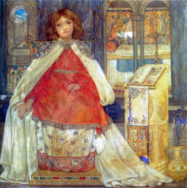 Enthroned   Kate Elizabeth Bunce   Oil Painting