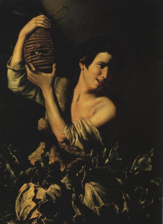 Young Peasant With Flask | Tommaso Salini | Oil Painting