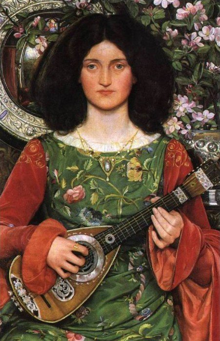 Melody 1895   Kate Elizabeth Bunce   Oil Painting