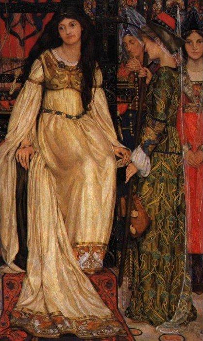 The Keepsake 1898-1901   Kate Elizabeth Bunce   Oil Painting