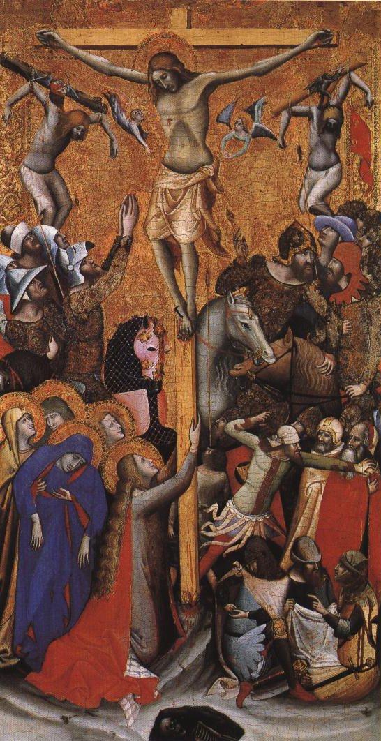 Crucifixion | Vitale Da Bologna | Oil Painting