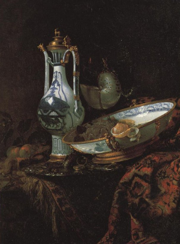 Still Life With A China Ewer Nautilus Cup And Other Objects | Willem Kalf | Oil Painting