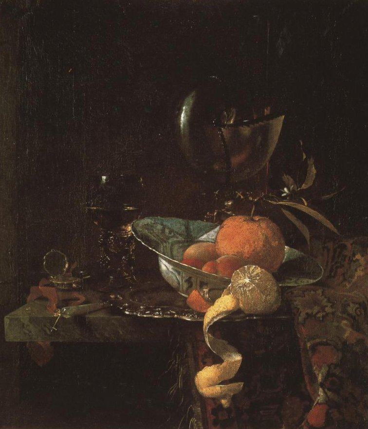 Still Life With A Nautilus Cup | Willem Kalf | Oil Painting