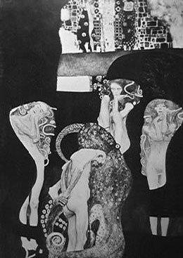 Jurisprudence | Gustav Klimt | Oil Painting
