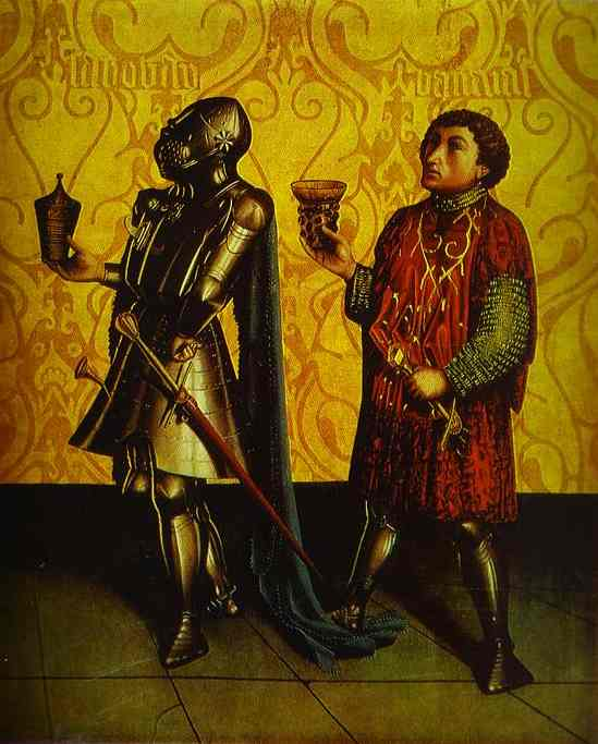 Sabobai And Benaiah 1435   Konrad Witz   Oil Painting