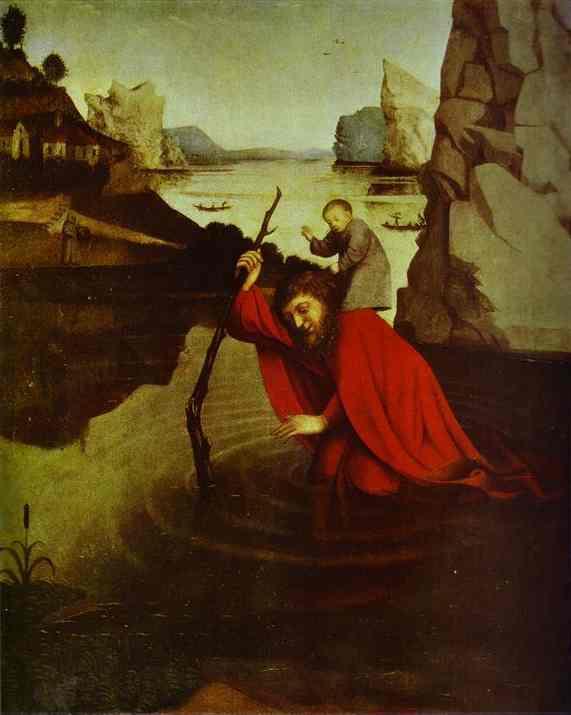 St Christophorus | Konrad Witz | Oil Painting