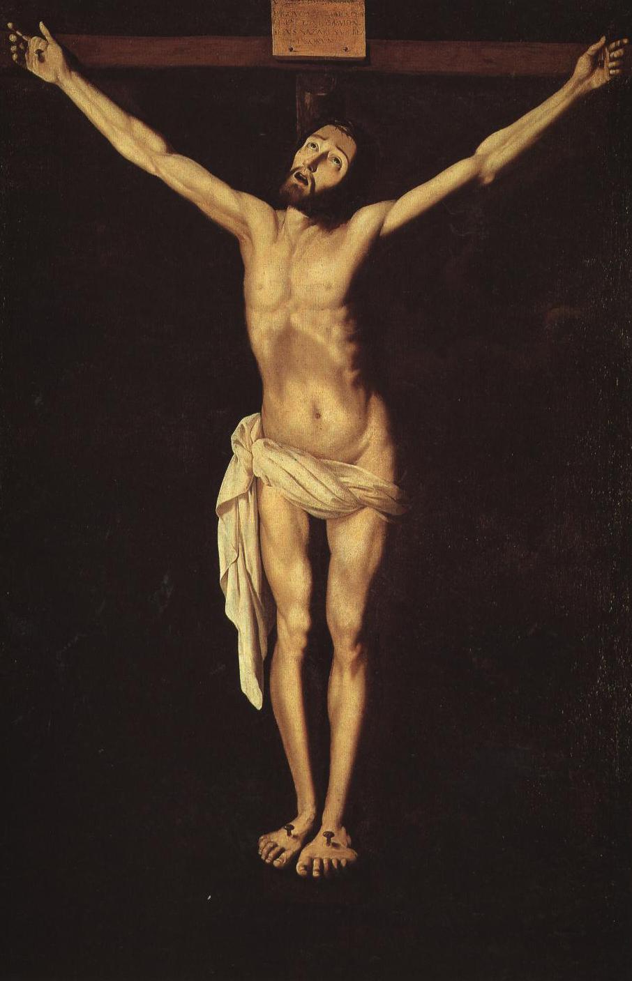 Christ On The Cross | Zurbaran | Oil Painting