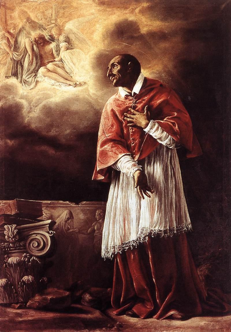 St Carlo Borromeo 1611-12 | Orazio Borgianni | Oil Painting