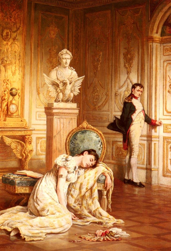 Napoleons Farewell To Josephine | Laslett John Pott | Oil Painting