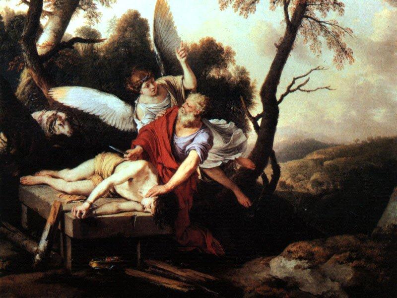 Abraham Sacrificing Isaac 1650 | Laurent De La Hire | Oil Painting